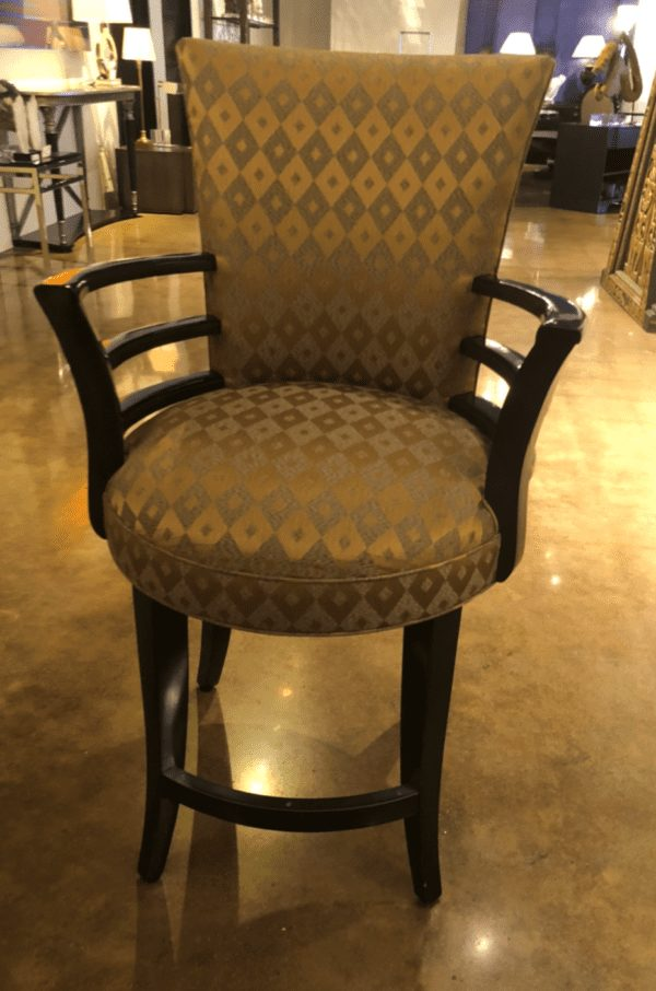 William and Wesley - Art Deco Barstool