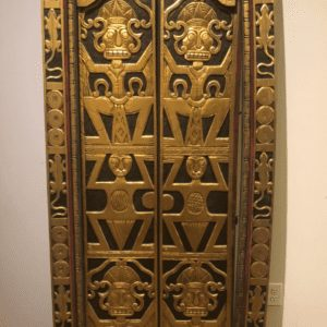 William and Wesley - Tibetan Door