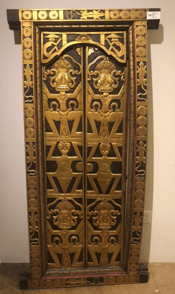 William and Wesley - Tibetan Door