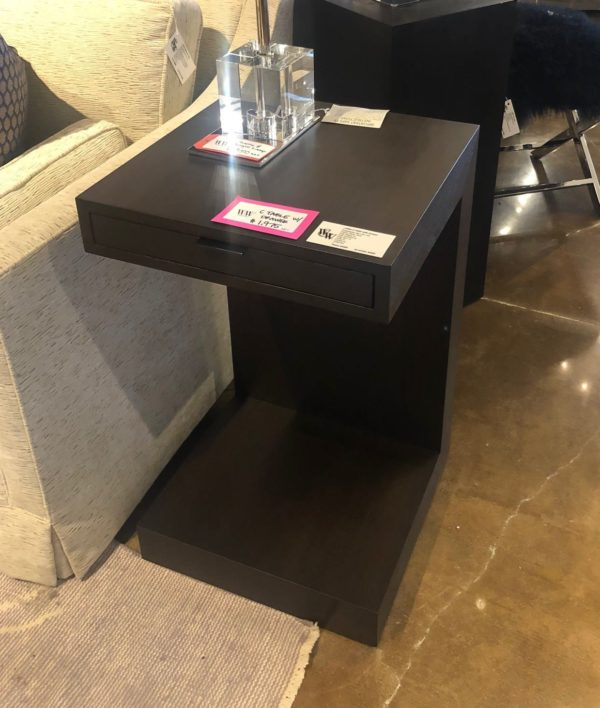 William and Wesley C Table with Drawer