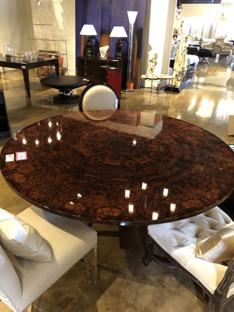 William & Wesley - Concave Dining Table