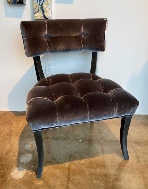 William and Wesley Crescent Side Chair