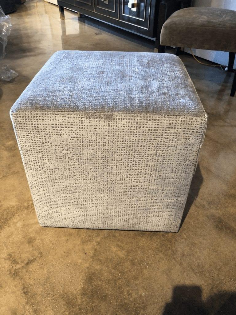 Wesley & Wesley - Cube Ottoman
