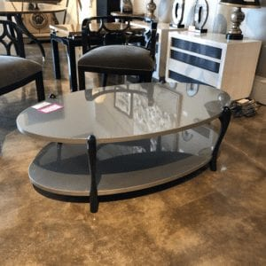 William & Wesley - Double Oval Cocktail Table