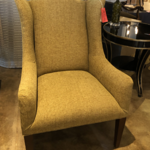 William and Wesley High Tight Back Wing Chair