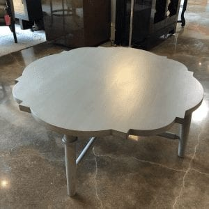 Wesley & Wesley - Quatrefoil Cocktail Table