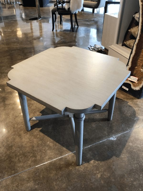 Wesley & Wesley - Quatrefoil End Table