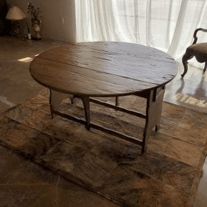 William and Wesley - Italian Drop Leaf Dining Table