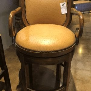 William and Wesley Midland Swivel Barstool