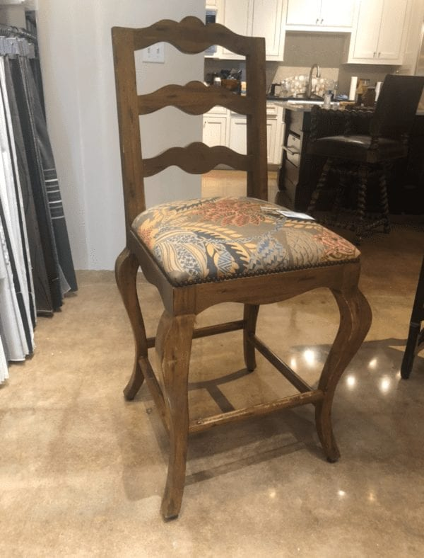 William and Wesley Ladderback Barstool