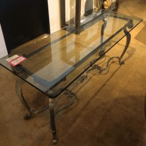 William and Wesley Laser Cut Steel Table
