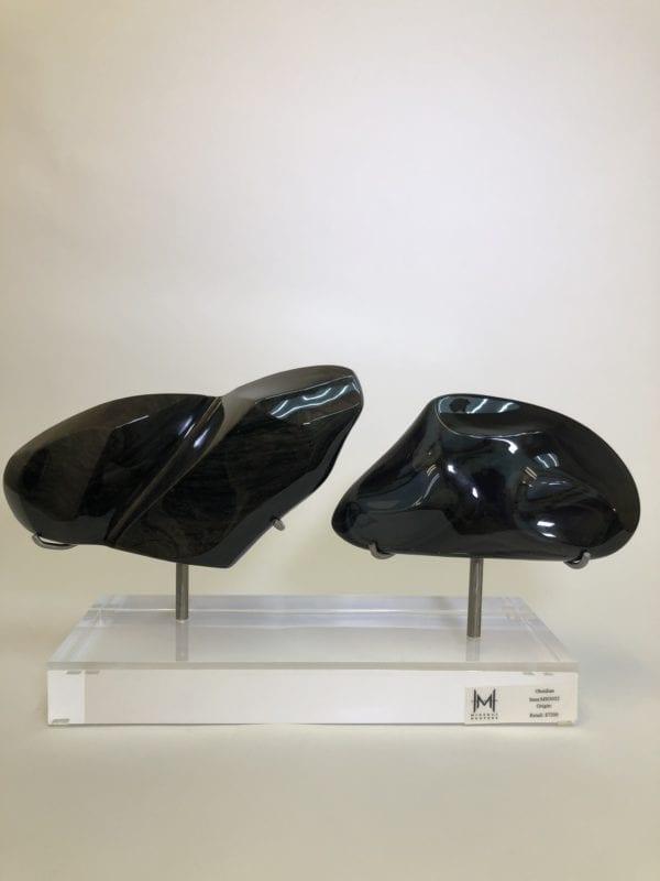 Obsidian Sculture - Double