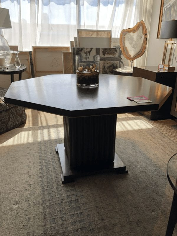 William & Wesley - Octagonal Game Table