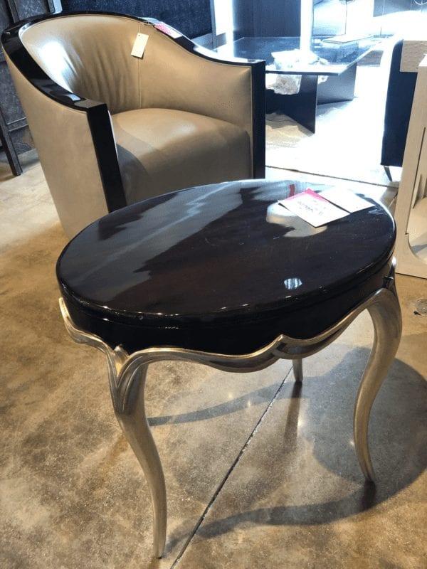 Wesley & Wesley - Oval Art Nouveau End Table
