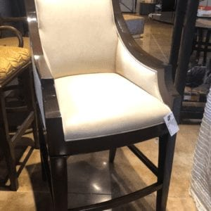 William and Wesley Paris Bank Barstool