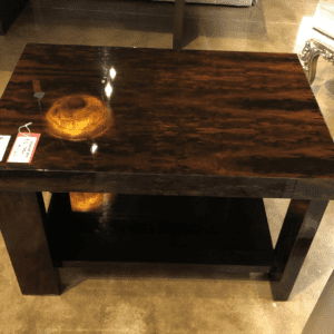 William and Wesley Ridgeway End Table
