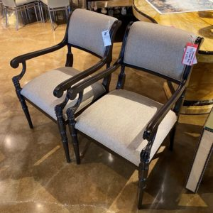 William and Wesley Salamonic Arm Chair