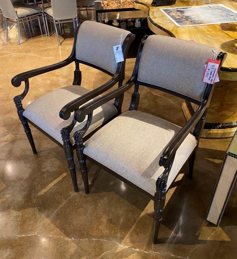 William and Wesley Salamonic Arm Chair