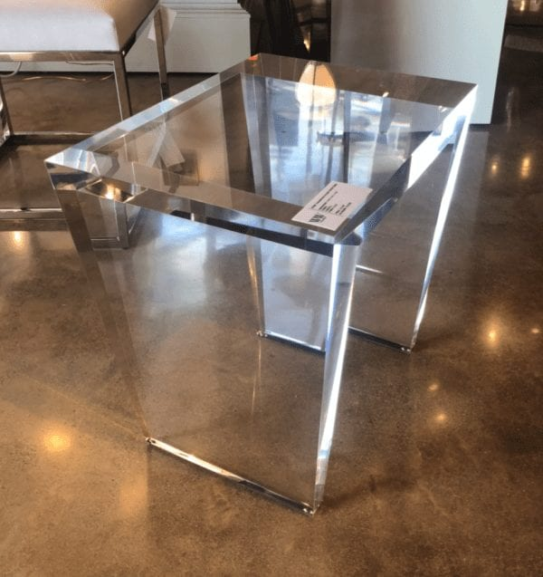 Wesley & Wesley - Transitional Side Table