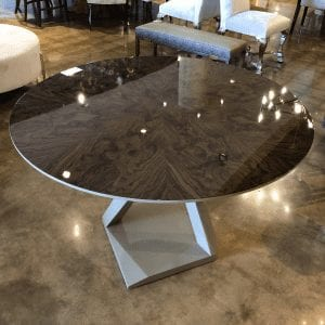 William and Wesley Twist Center Table