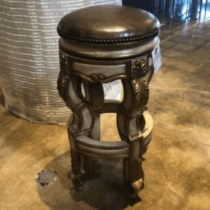 William and Wesley Venice Swivel Counterstool