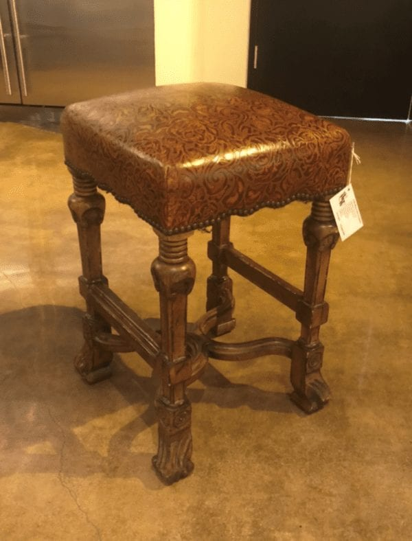 William and Wesley William and Mary Counterstool