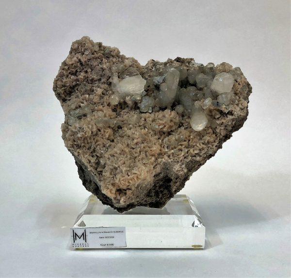 Apophyllite with Dolemite