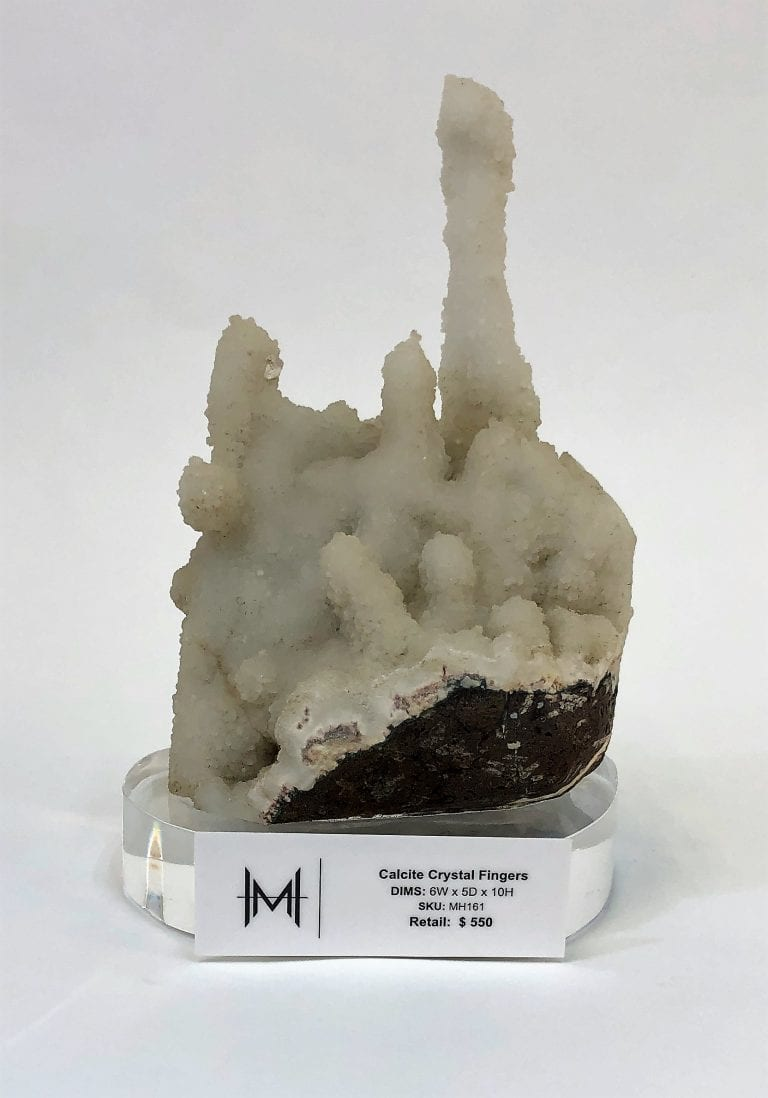 Calcite Crystal Fingers