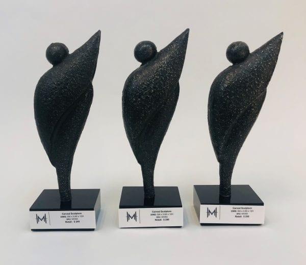 Carved Sculpture Set