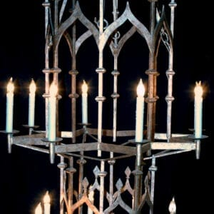 William and Wesley - Gothic Chandelier