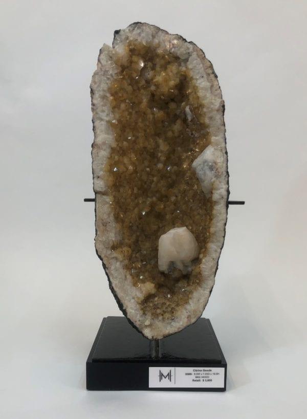 Citrine Geode