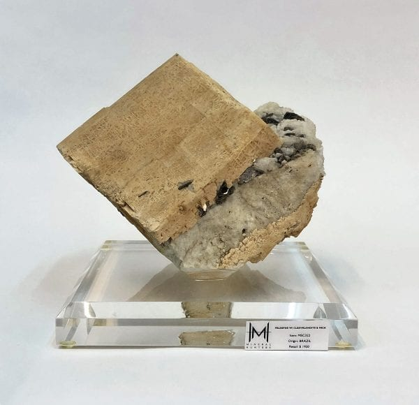 Feldspar with Cleavelandite and Mica