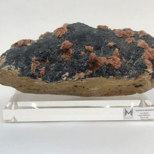 Galena with Red Barite