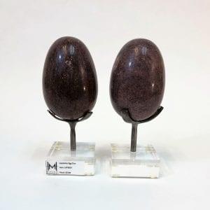 Lepidolite Egg Duo