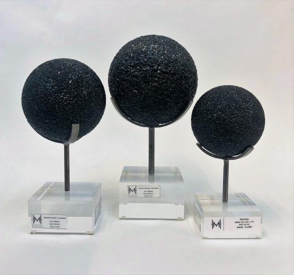 Obsidian Sphere Set