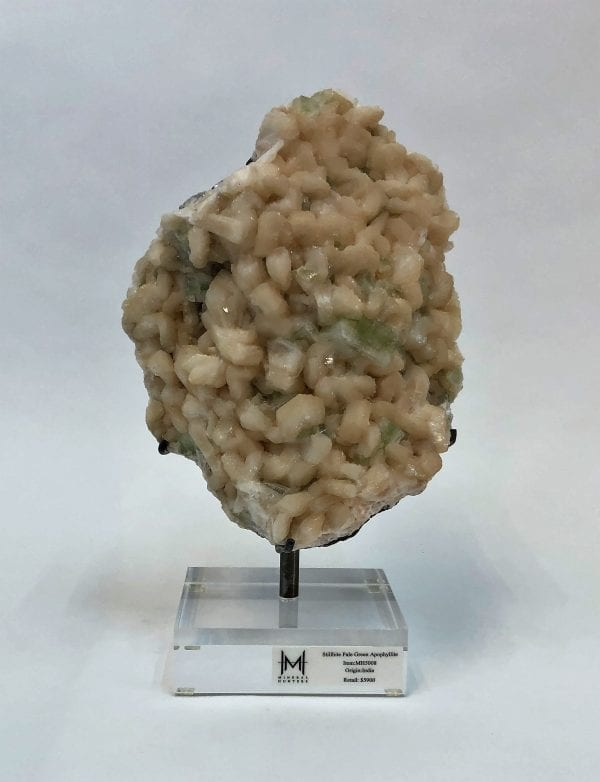 Pale Green Stilbite Apophyllite