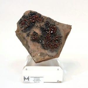 Vanadinite Crystals on Matrix