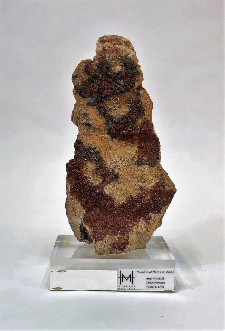 Vanadinite with Matrix